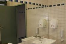 … und neue, moderne Waschräume