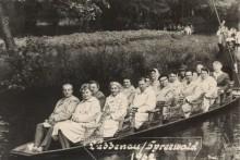 Lehrerausflug in den Spreewald 1962