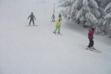 fortgeschrittene Skifahrer