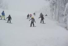 unsere Snowboarder